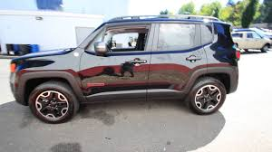 jeep black 2016 2016 jeep renegade trailhawk black gpd56536 redmond