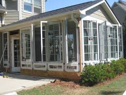 sunroom windows casement windows in a sunroom traditional sunroom atlanta