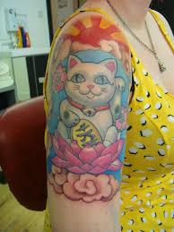 tattoo cat neko collection of 25 happy cat tattoo