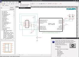 cad drawing circuit diagrams maker tinycad windows pc software