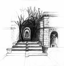 photos pencil sketches landscapes tutorial drawing art gallery