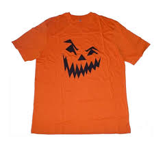 Mens Halloween T Shirts by Mens Orange Scary Jack O Lantern Halloween T Shirt Xxlarge