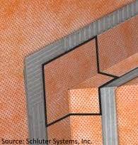 Schluter Corner Bench Systems Kerdi Bench Corners 2 Pack