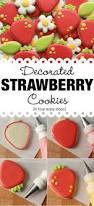 decorated strawberry cookies u2013 the sweet adventures of sugar belle