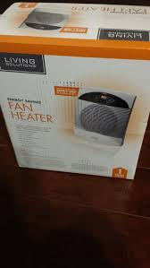energy saving fan heater living solutions brand new energy saving fan heater electronics in