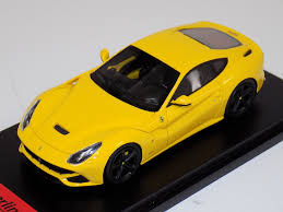 Ferrari F12 Yellow - 1 43 fujimi tsm 2013 ferrari f12 berlinetta giallo modena yellow