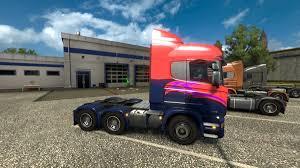 euro truck simulator 2 bi pride paint job bi geek fan
