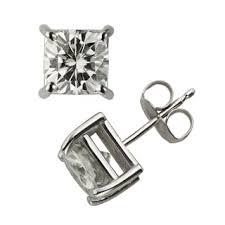 moissanite earrings moissanite earrings shop the best deals for nov 2017 overstock