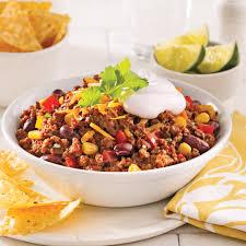 cuisine chilienne recettes chili au boeuf et veau à la mijoteuse recettes cuisine et