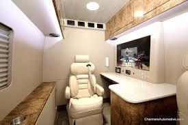 Conversion Van With Bathroom Luxury Custom Mercedes Benz Sprinter Mobile Office Vans