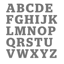 large letter wall sticker by little chip notonthehighstreet com letters