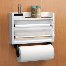 the ultimate kitchen 3 in 1 dispenser paper towel holder spice