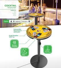 Wireless Charging Table Wireless Charging Table Wireless Charging Station With Mfi Cables