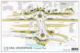Vail Map New I 70 Vail Underpass