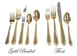 gold flatware rental gold plated flatware rentals new jersey philadelphia pa where
