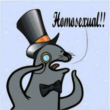 Ultra Gay Meme - homophobic seal know your meme