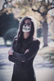 Halloween Skeleton Makeup Faces by Halloween Skeleton Makeup A Southern Drawl