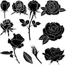 53 popular black rose tattoos designs u0026 ideas about rose golfian com