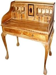 small teak writing desk 305 design center teak indonesian patio and outdoor furniture miami