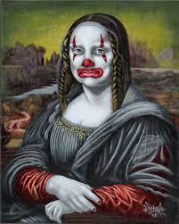 mona art show featuring modern takes on da vinci u0027s u0027mona lisa u0027 at