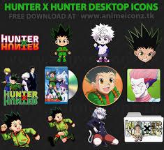 hunter x hunter hunter x hunter desktop folder icon animeiconz