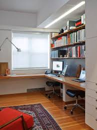 Shelves For Office Ideas 20 Space Saving Office Designs With Functional Work Zones For Two
