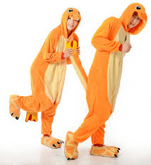 Charizard Pokemon Halloween Costume Anime Pokemon Charizard Pajamas Charmander Kigurum Unisex