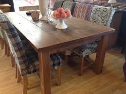 Plank Dining Room Table The Authentic Waxed 4 Plank Dining Table Kubek Furniture