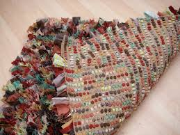 Fabric Rug Stitchin U0027 The Day Away Rag Rug Tutorial