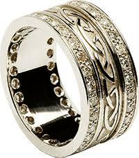 Irish Wedding Rings by Interlocking Irish Wedding Rings