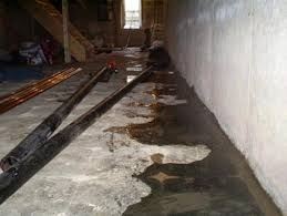 How To Stop Water From Leaking Into Basement by Negative Side Basement Waterproofing Sealing Water Out