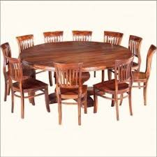 Round Table For 8 by Large Round Dining Table Seats 10 Foter