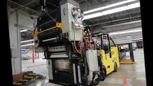 palmieri u0026 sons rigging inc usa printing equipment movers youtube