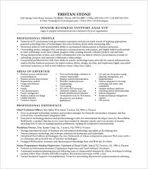 business analyst resume template dissertation writing services of great quality technical analyst