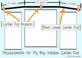 Flexible Curtain Rods For Bay Windows Best 25 Bay Window Curtain Rod Ideas On Pinterest Corner Window