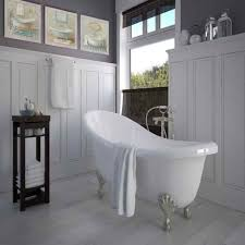 traditional small bathroom ideas white wall paneling with simple paintings for traditional small