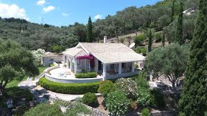 house with separate guest house corfu luxury