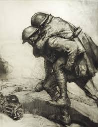 artist soldiers artistic expression in the first world war