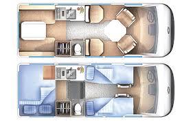 Interior Layout Chevrolet 3500 Minivan Camper Interior Layout Camper Van
