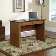 sauder appleton faux marble top writing desk sand pear by office