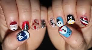 nail arts christmas nail art designs