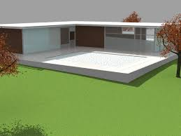 Simple Modern by 3d Model Simple Modern House Cgtrader