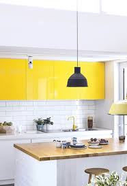 light yellow kitchen with white cabinets 25 yellow and white kitchens that raise the mood digsdigs
