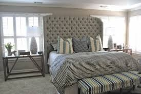 Tufted Headboard Footboard Best Grey Tufted Headboard Design U2013 Rattan Creativity And Headboard