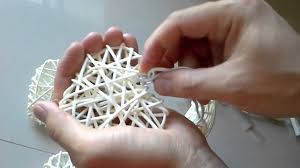 Rattan Star String Lights by How To Assembly The Rattan Heart With Cable String Lights Youtube