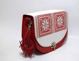 genti piele handmade geanta handmade din piele naturala brodata manual cu motive