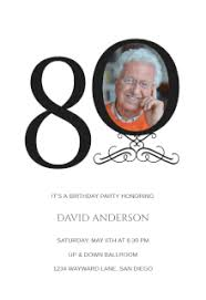 free printable 80th birthday invitation templates greetings island