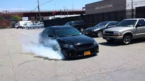 nissan altima slammed altima se r 6sp small burnout youtube