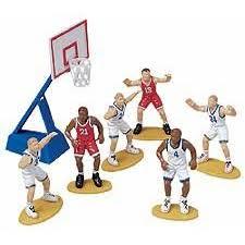 basketball cake toppers geekshive wilton cupcake and cake topper 7pc basketball cake dec