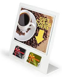 gift card display 2 gift card slots